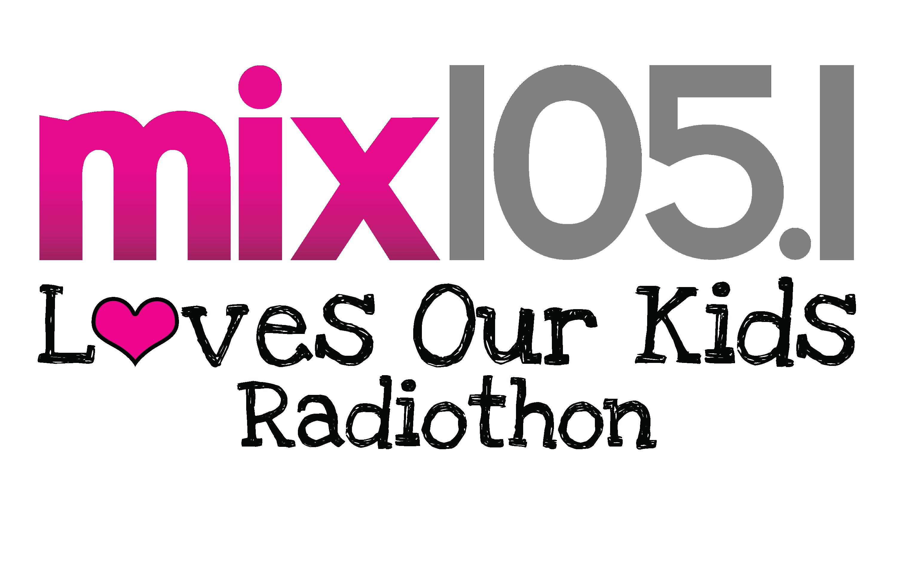 MIX 1051 Radiothon Logo
